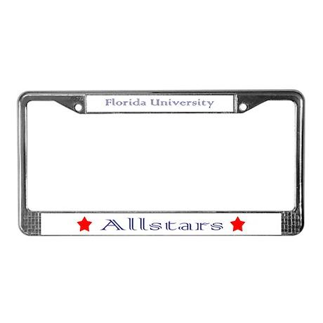 Florida University Allstars License Plate Frame
