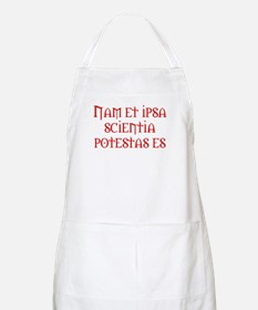 Knowledge is power BBQ Apron