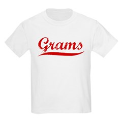 Grams (red vintage) T-Shirt