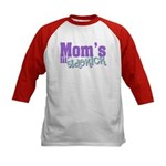 Mom's Lil' Sidekick Kids Baseball Jersey