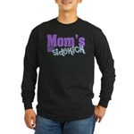 Mom's Lil' Sidekick Long Sleeve Dark T-Shirt
