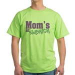 Mom's Lil' Sidekick Green T-Shirt