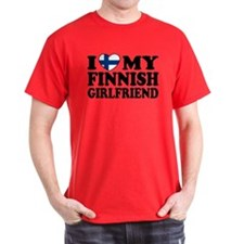 I Love My Finnish Girlfriend T-Shirt