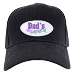 Dad's Lil' Sidekick Black Cap