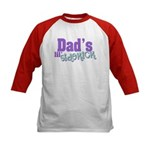 Dad's Lil' Sidekick Kids Baseball Jersey