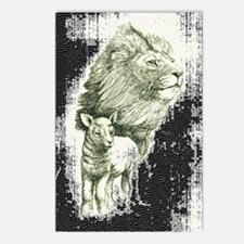 Lion and the lamb Postcards (Package of 8)