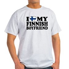 I Love My Finnish Boyfriend T-Shirt