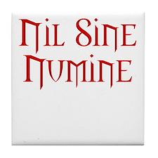 Nothing Without Providence Tile Coaster