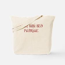 US Navy Motto Tote Bag