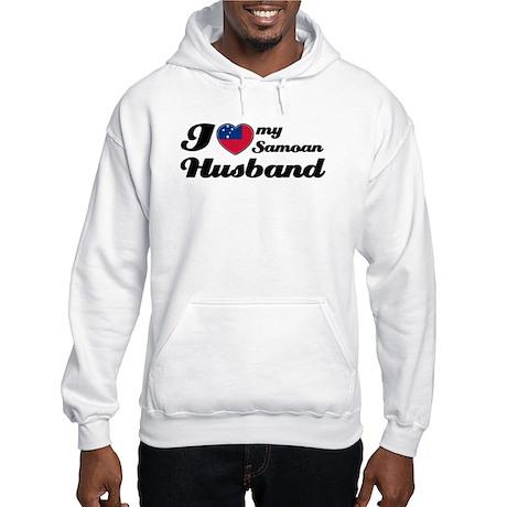 I love my Samoan Husband Hooded Sweatshirt