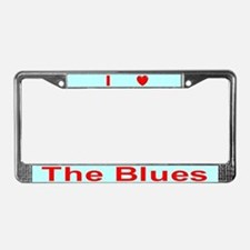 Blues License Plate Frame