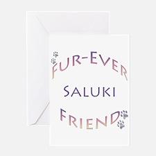 Saluki Furever Greeting Card