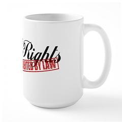 Bill of Rights Large Mug