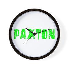 Paxton Faded (Green) Wall Clock