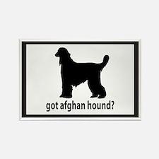 Got Afghan Hound? Rectangle Magnet