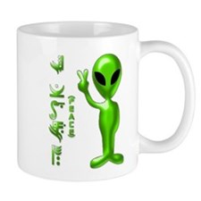 Alien Peace Dudes 9 Mug