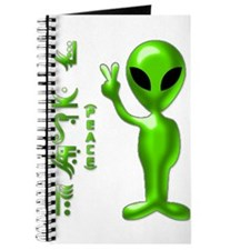 Alien Peace Dudes 9 Journal