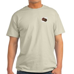 (Two cents) Opinion Ash Grey T-Shirt