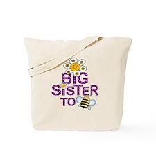 Cute Big Sister to BEE Tote Bag