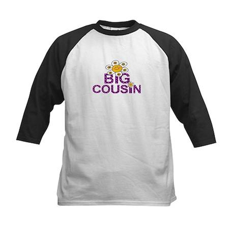 Cute Big Cousin Kids Baseball Jersey