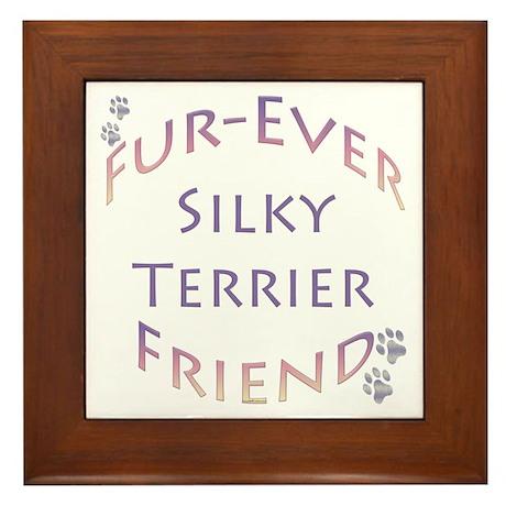 Silky Furever Framed Tile