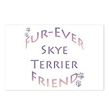 Skye Terrier Furever Postcards (Package of 8)