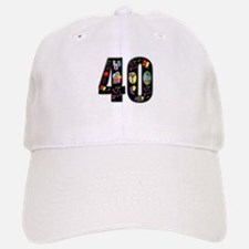 40th birthday Baseball Baseball Cap