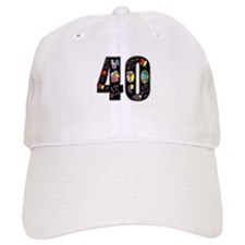 40th birthday Baseball Cap