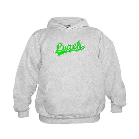Retro Leach (Green) Kids Hoodie