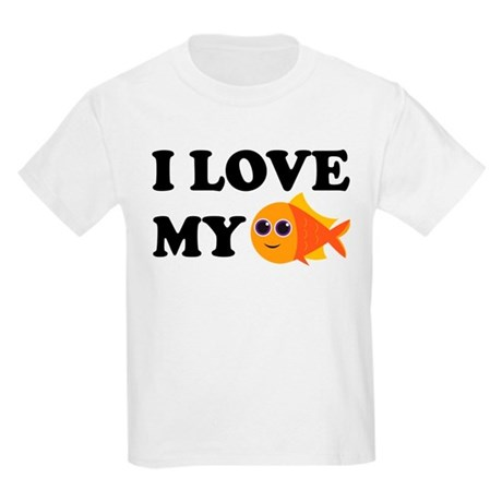 Pet Goldfish Kids Light T-Shirt