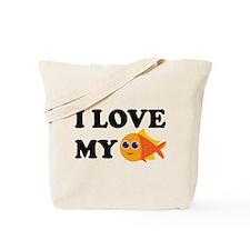 Pet Goldfish Tote Bag