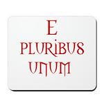 e pluribus unum Mousepad