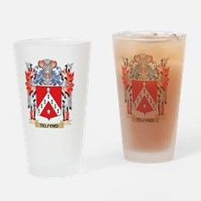 Telford Coat of Arms - Family Crest Drinking Glass