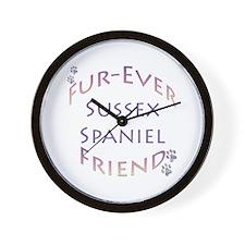 Sussex Furever Wall Clock
