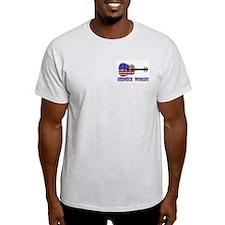 REDNECK WOMAN! Ash Grey T-Shirt
