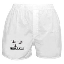 Apache Helicopters Boxer Shorts