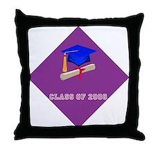 Class of 2008 Grad Throw Pillow