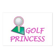 Golf Princess Postcards (Package of 8)