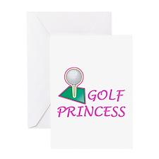 Golf Princess Greeting Card