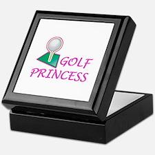 Golf Princess Keepsake Box