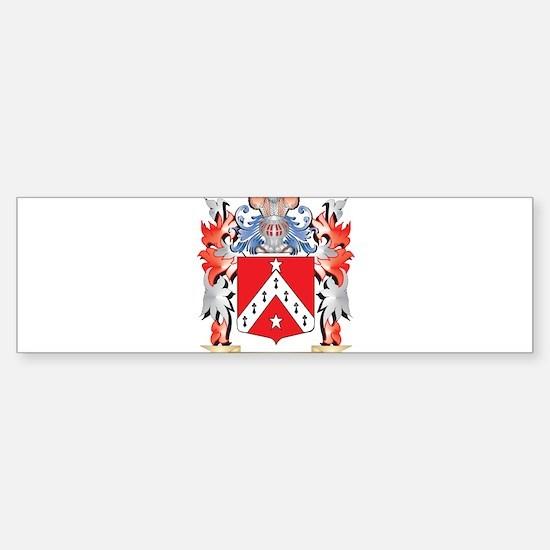 Telford Coat of Arms - Family Crest Bumper Bumper Bumper Sticker