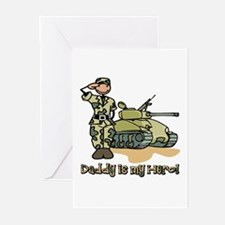 Daddy is my hero! Greeting Cards (Pk of 10)