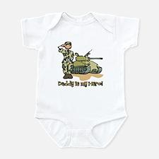 Daddy is my hero! Infant Bodysuit
