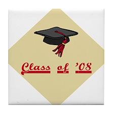 Class of 2008 Grad Tile Coaster