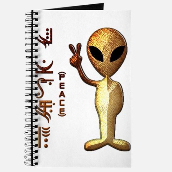Alien Peace Dudes 8 Journal