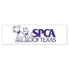 SPCA of Texas Bumper Bumper Sticker