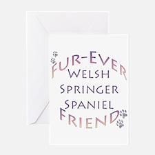 Welsh Springer Furever Greeting Card