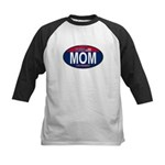 Your Mom for President (Oval) Kids Baseball Jersey