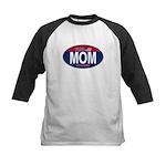 Your Mom for President (Oval) Kids Baseball Jersey