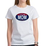 Your Mom for President (Oval) Women's T-Shirt